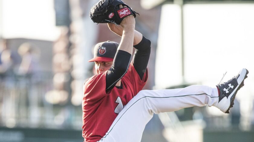 Padres pitching prospect MacKenzie Gore started 2018 at low Single-A Fort Wayne.