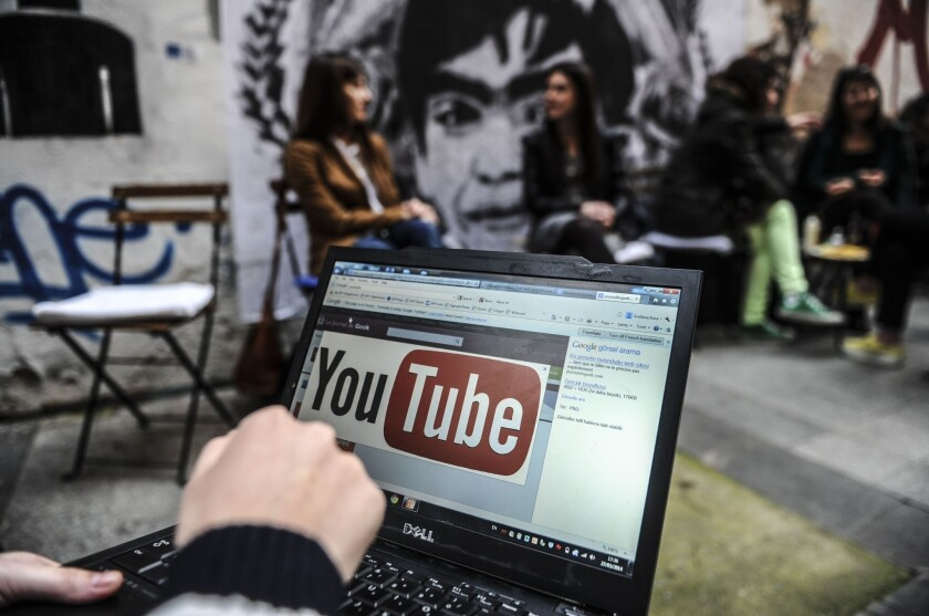 Turkey on Thursday blocked video-sharing website YouTube a week after blocking access to Twitter, Both were used to spread audio recordings allegedly implicating the prime minister in corruption
