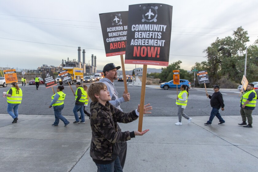 Cyber Monday protesters
