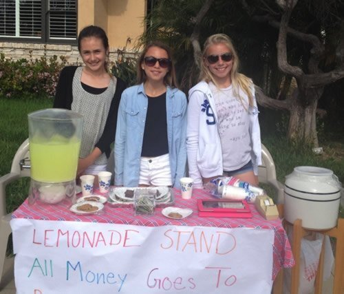 All Hallows Academy fundraisers for teen with can