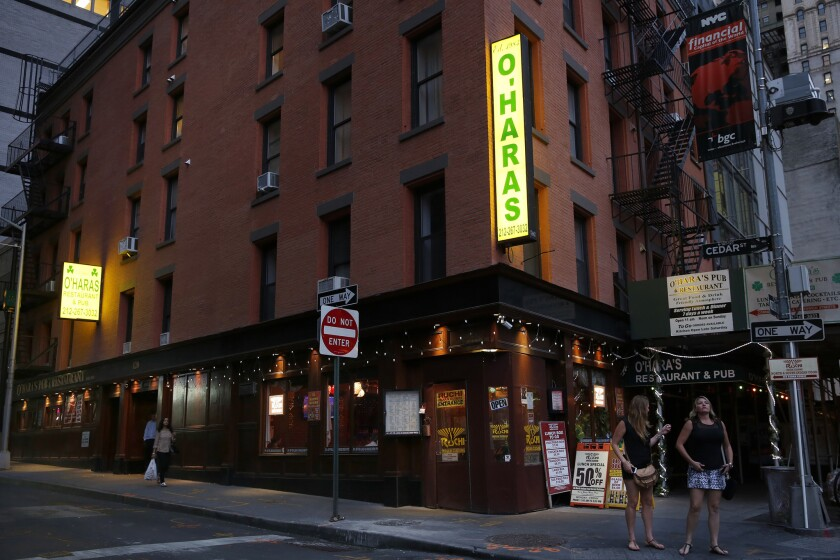 The reopening of O'Hara's in April 2002 gave returning customers some normalcy, co-owner Michael Keane said.