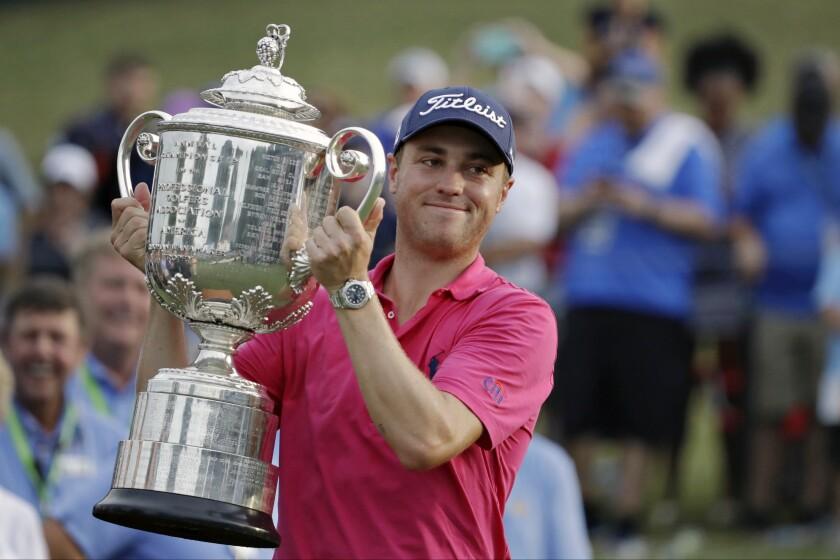 PGA Tour Game Thomas Cover Golf