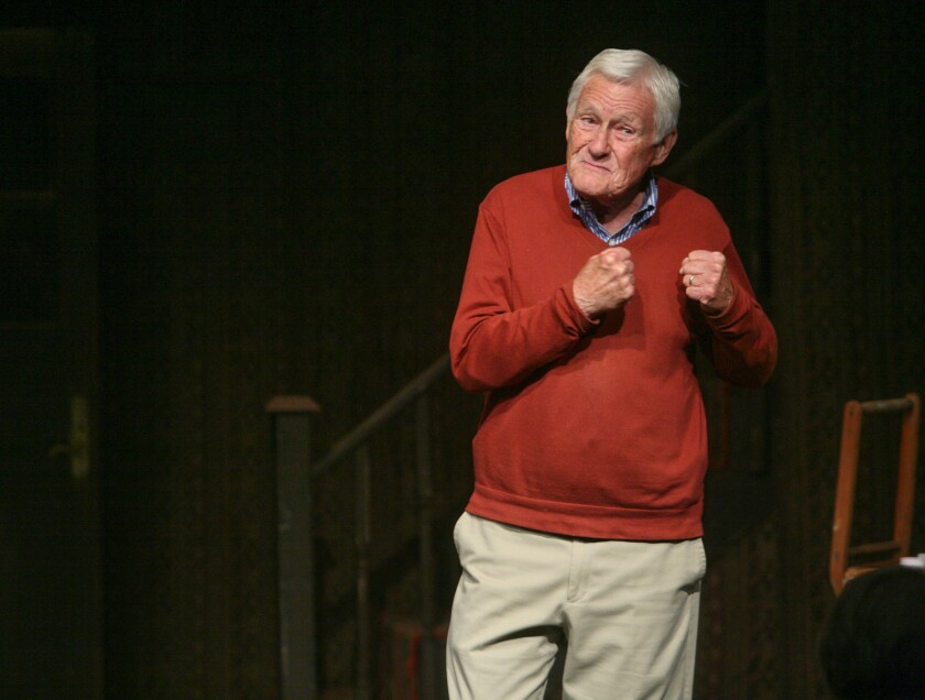 """Orson Bean tells his stories as only a master raconteur can in """"Safe at Home"""" at Pacific Resident Theatre."""