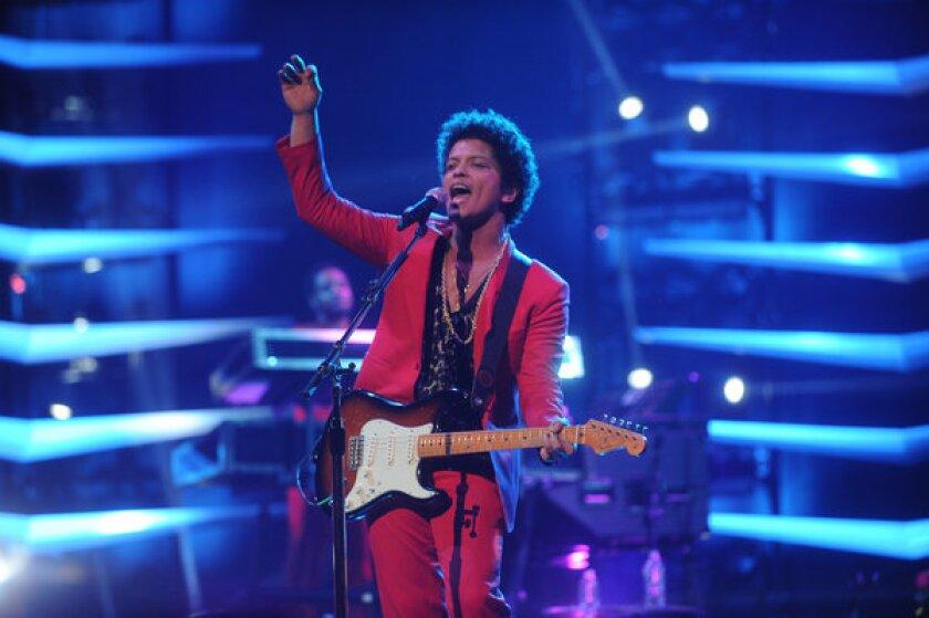 Bruno Mars in New York
