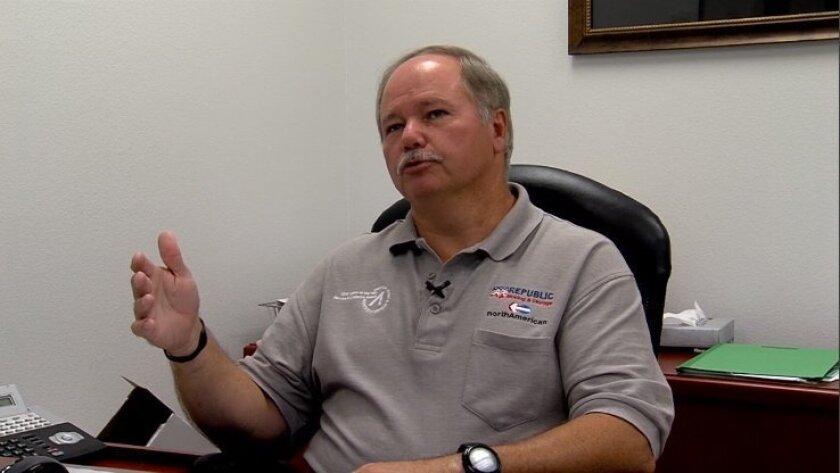 Bill Lovejoy, president of Chula Vista-based Republic Moving