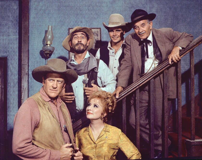 "A study published online in the journal Tobacco Control on Thursday determined there's been a decline in visibility of tobacco products on prime-time U.S. broadcast television. It looked at shows such as ""Gunsmoke"" (above in 1969) and ""House M.D."""