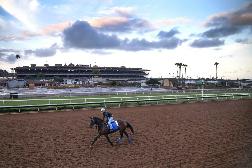 The horses are arriving and preparing for the 2015 Del Mar summer racing season which begins Thursday July 16th.