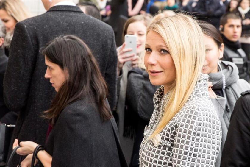 """La actriz Gwyneth Paltrow confirmó hoy que se casará con su actual pareja, Brad Falchuk, cocreador de la serie """"Glee"""". EFE/ARCHIVO"""