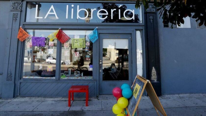 La Libreria bookstore is seen Nov. 3, 2018, in Los Angeles. The market for Spanish books is growing but traditional publishers have addressed demand in fits and starts. Some small companies have stepped in to fill the void, launched by frustrated mothers.