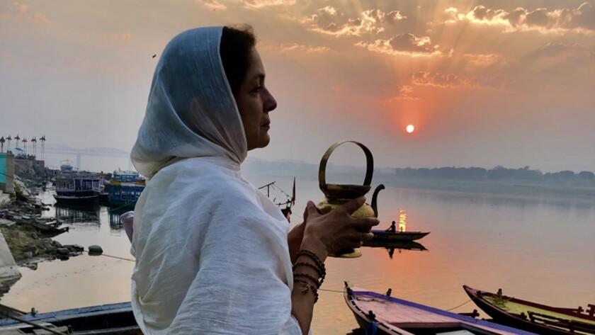 "Neena Gupta in ""The Last Color."""