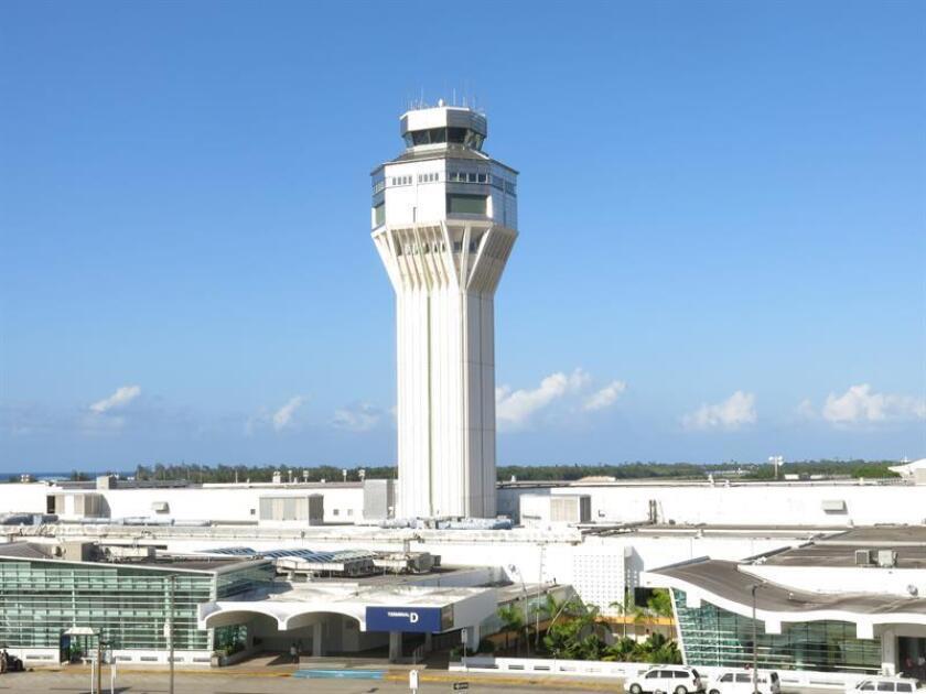 Vista parcial del Aeropuerto Luis Muñoz Marín en San Juan (Puerto Rico). EFE/Archivo