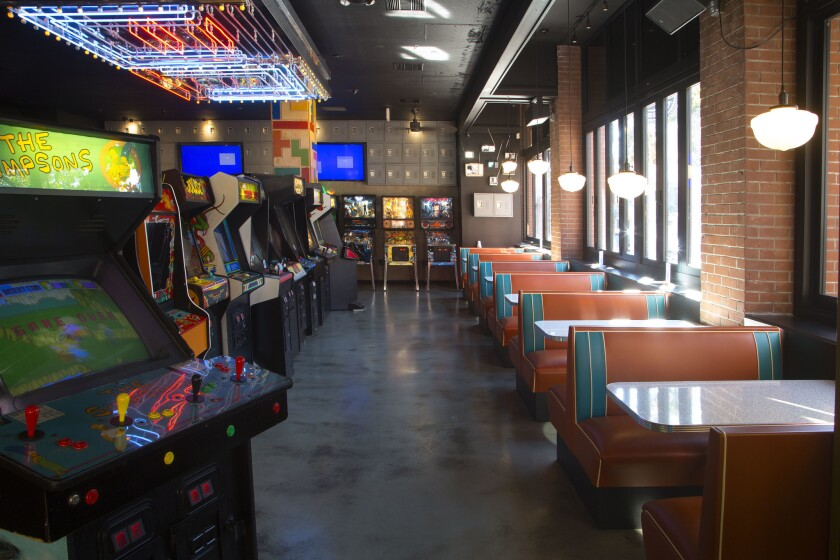 Coin-Op is known for having old-school arcade games and houses an impressive lineup.