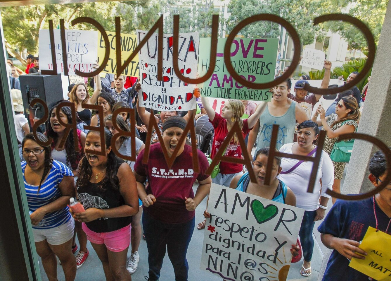 Protest March in Escondido