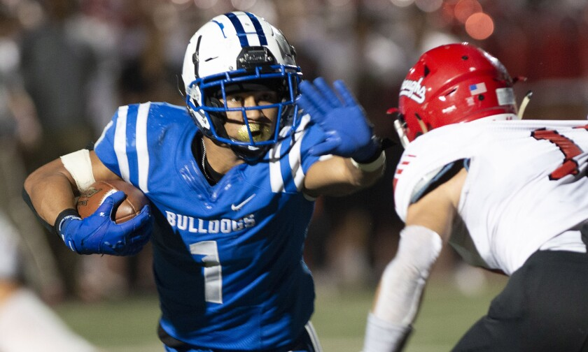 The Burbank High football team will take on host Don Lugo on Friday in the first round of the CIF Soutjern Section Division VII playoffs.