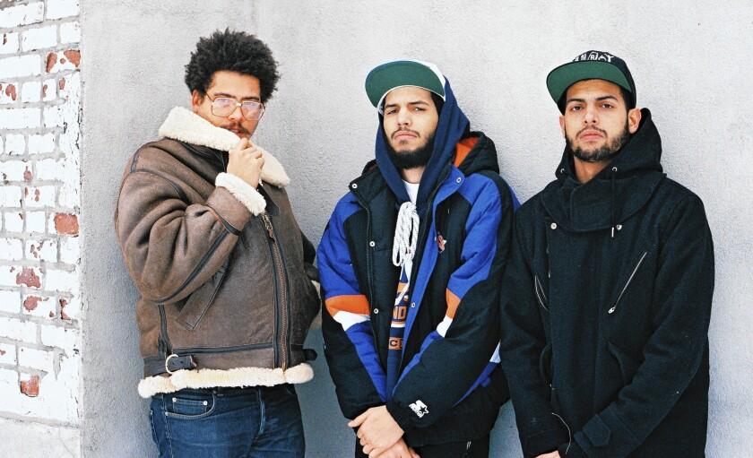 Seth Troxler, left, Chris Martinez and Steven Martinez have a new label together called Tuskegee.