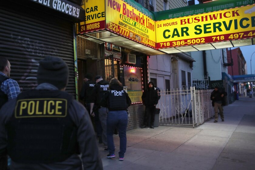 ICE Arrests Undocumented Immigrants In New York City