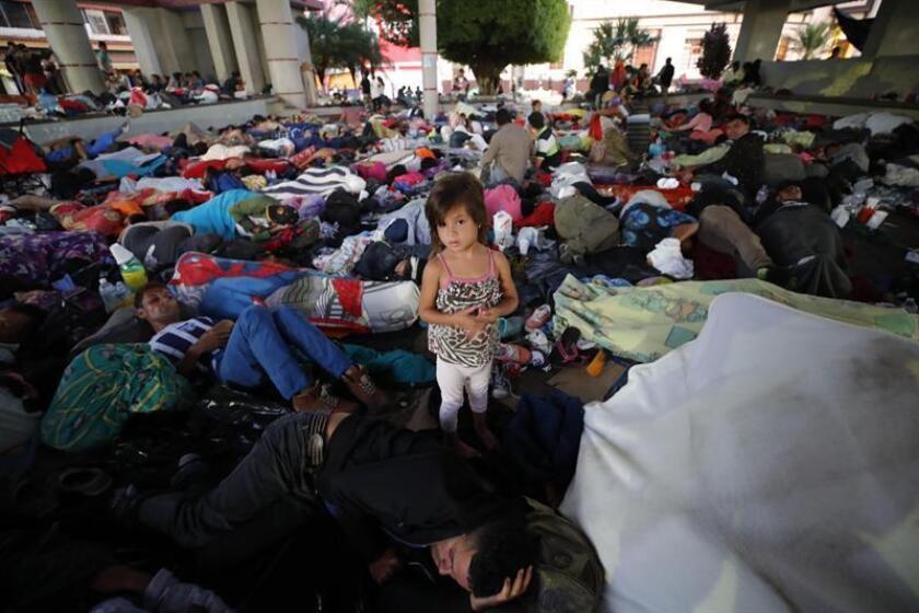 El gobernador del estado de Chiapas, sureste de México, Manuel Velasco, declaró hoy a Efe que se trabaja para proteger los derechos humanos de la caravana de migrantes, que este lunes denunció abusos de las autoridades. EFE