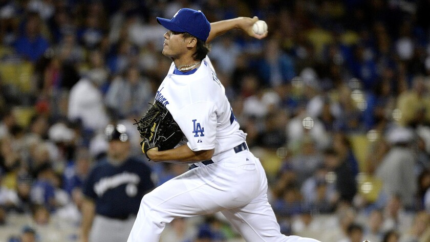 Dodgers send down Mike Bolsinger, call up Chin-Hui Tsao