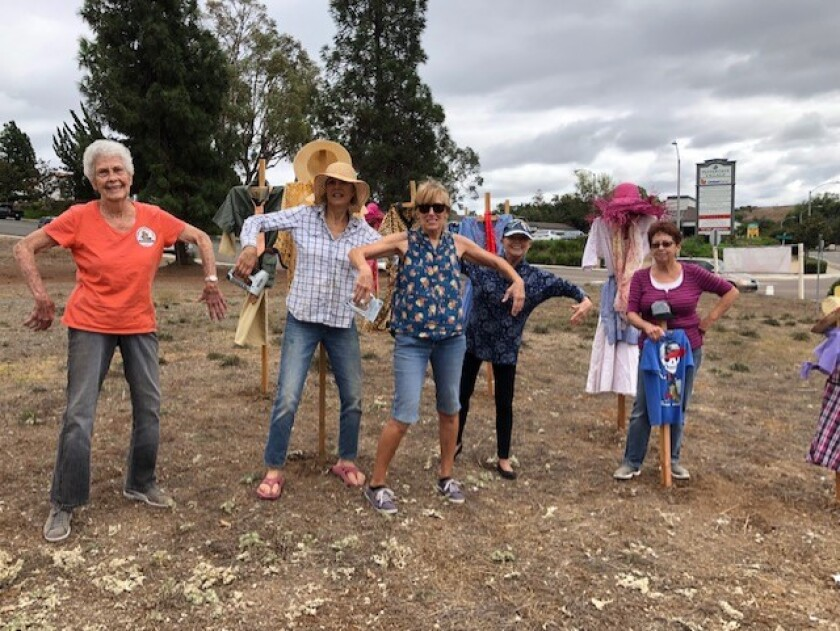 The ninth annual Fallbrook Scarecrow Days