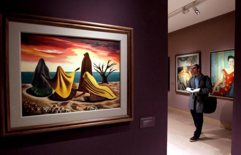 """Exposición muestra un nuevo """"relato artístico"""" del exilio español en México"""