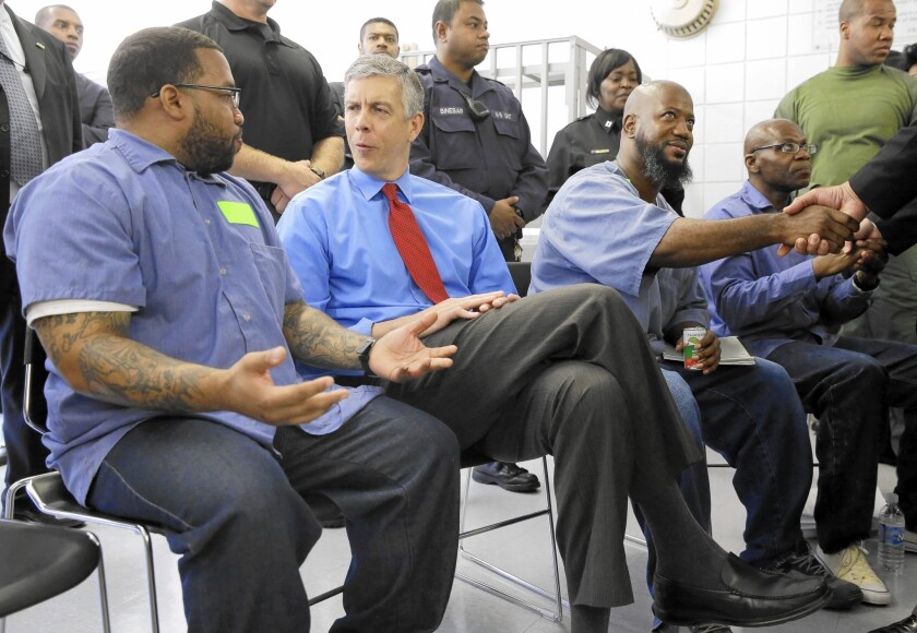 Four prisons in California to get community college programs