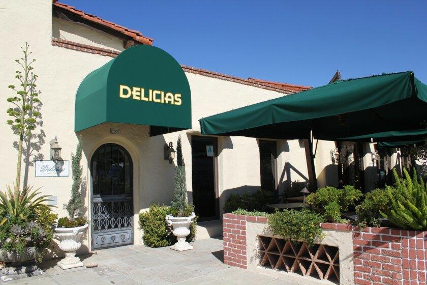 Delicias Restaurant in Rancho Santa Fe will close on Nov. 15. Photo by Karen Billing