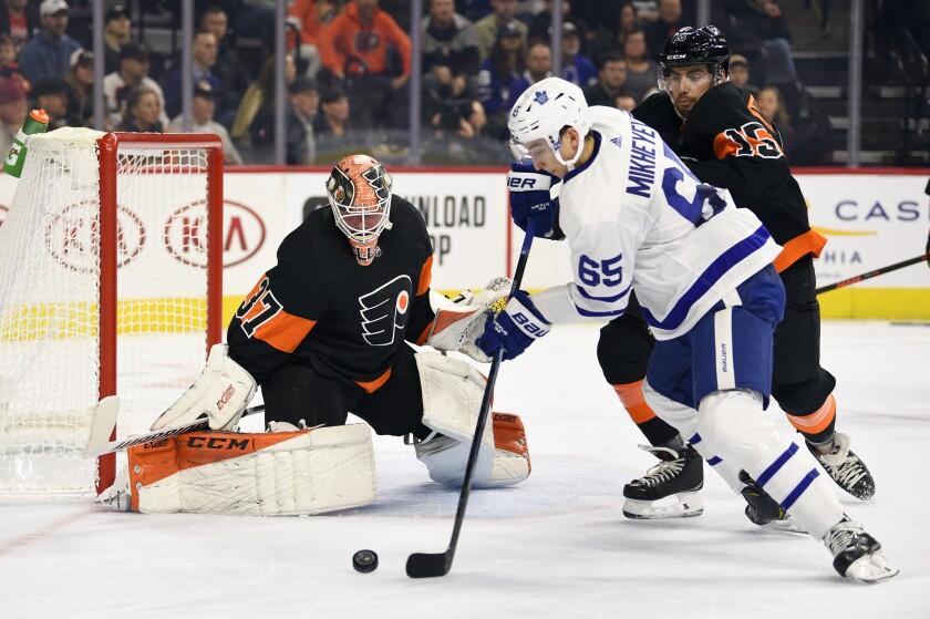 Maple Leafs Flyers Hockey