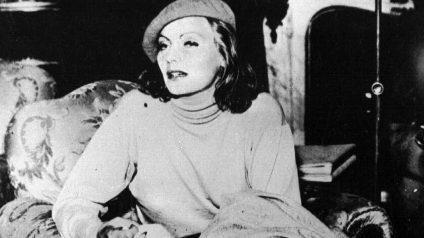 Greta Garbo in Gothenburg, Sweden, in 1932