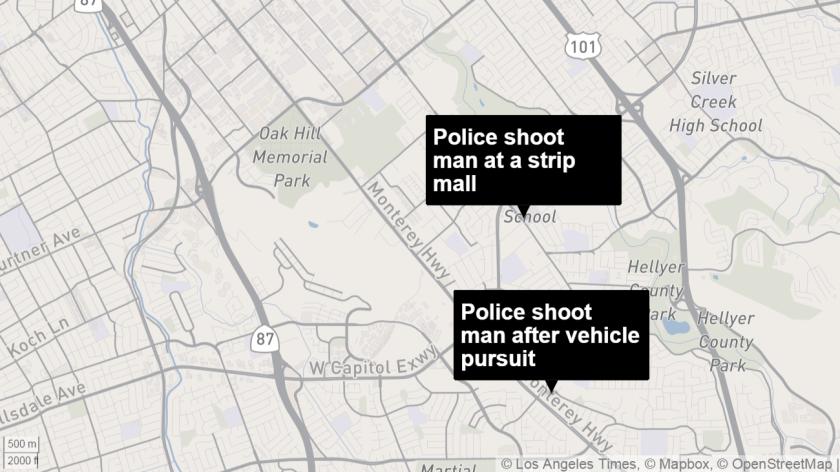 Police shot and kill man