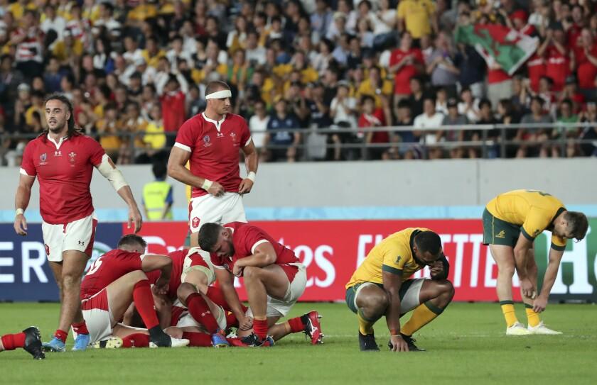 Japan Rugby WCup Australia Wales