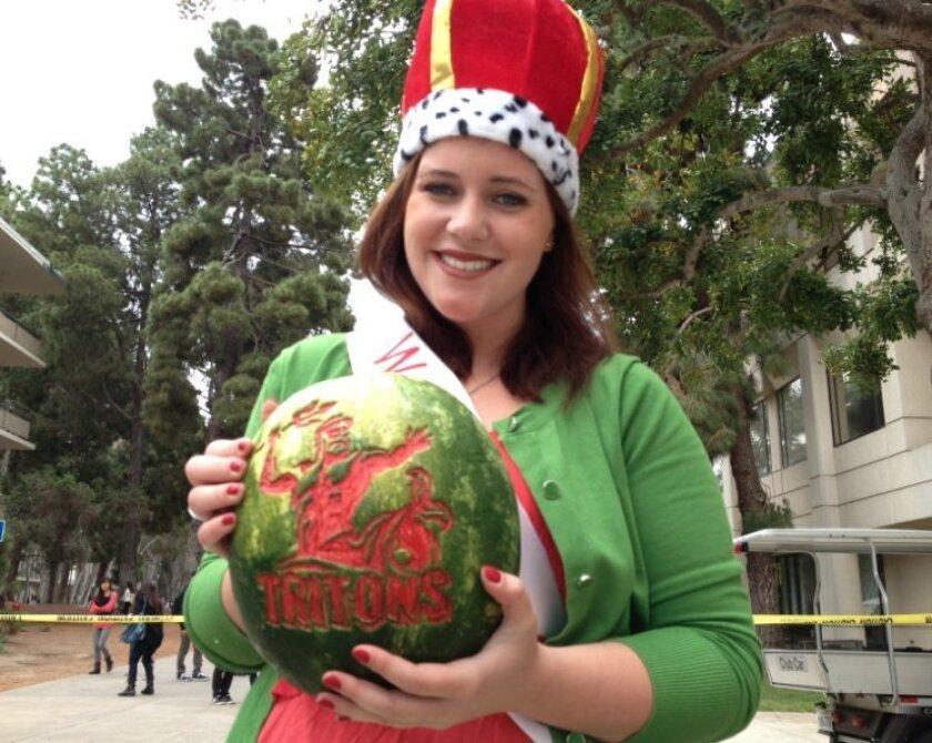 Watermelon Drop Queen Justine Hopkins