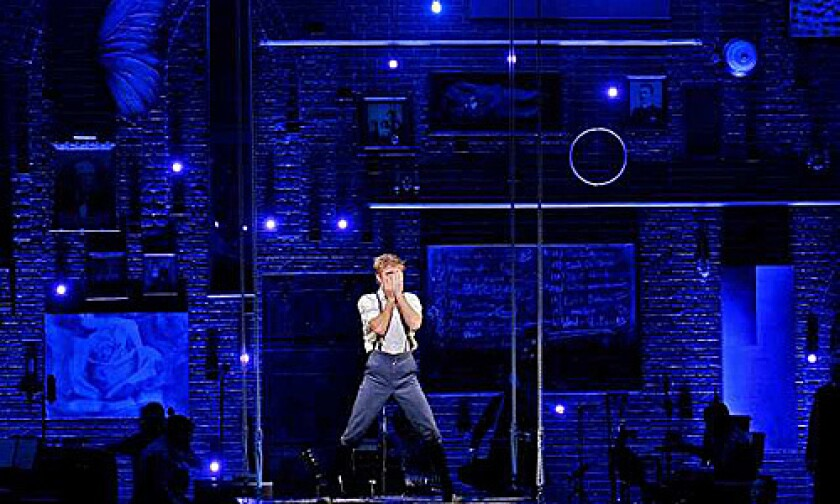'SPRING AWAKENING': Kyle Riabko plays Melchior, an artist-in-the-making, in Steven Sater and Duncan Sheik's musical.