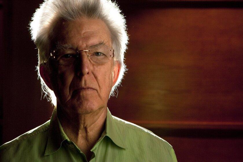 Composer Roger Reynolds at UC San Diego.
