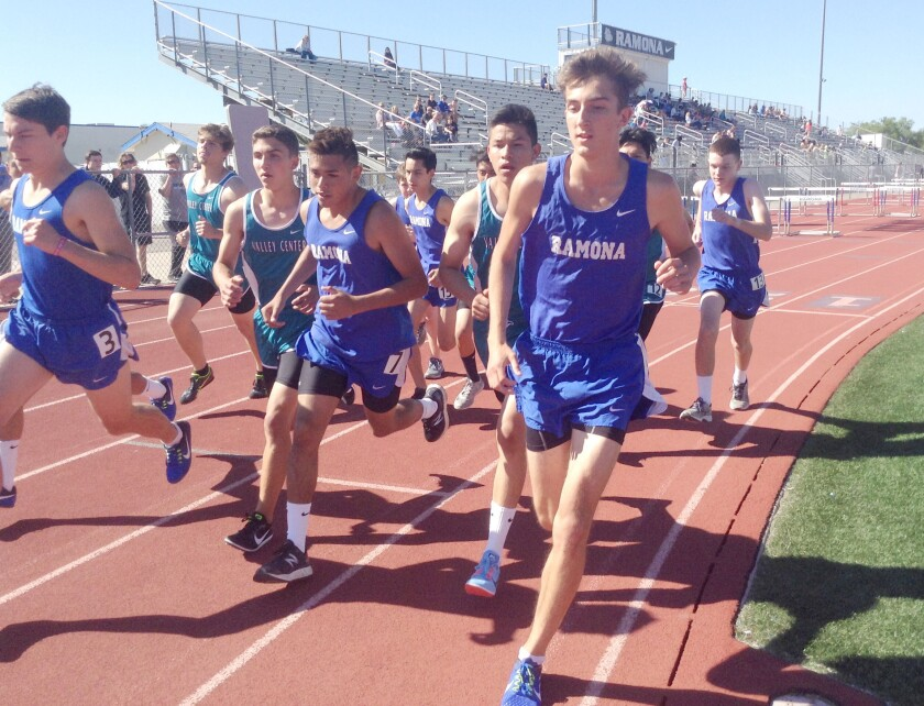 Neighborhood Reinvestment Program grant expected to pay more than half the cost of resurfacing Ramona High School's track.