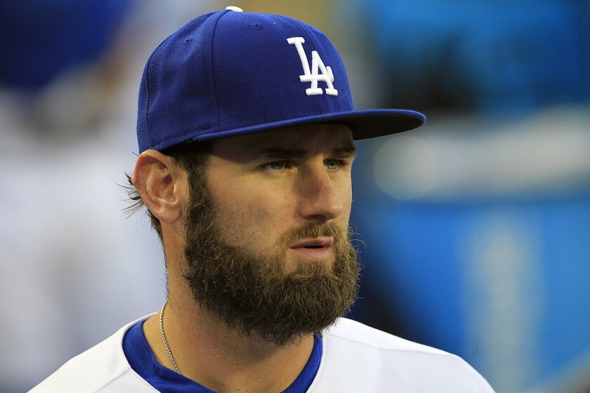 Scott Van Slyke is hitting .306 with a team-high on-base plus slugging percentage of 1.141 for the Dodgers.