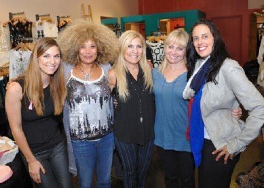 Lauren Bursin, Desi Green, Rhonda Chowaiki, Hope Umansky, Marina Chowaiki