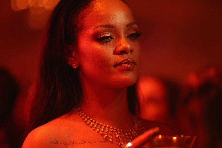 Rihanna has achieved a hit-making milestone.