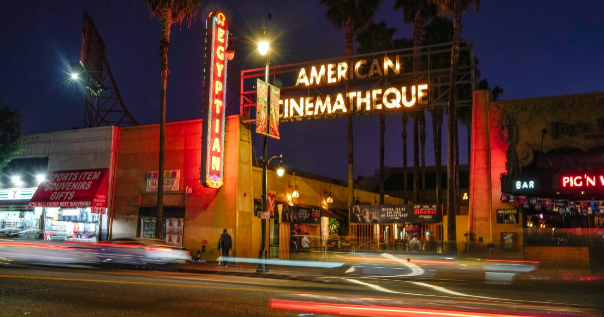Netflix to put a new spin on a L.A.'s classic Egyptian Theatre