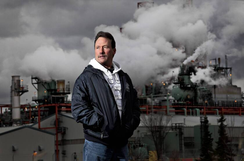 Detroit pipe fitter Scott Zarembski traveled to Edmonton, Canada, after hearing that there was work in western Canada. He found a job within days and has been there since 2009.