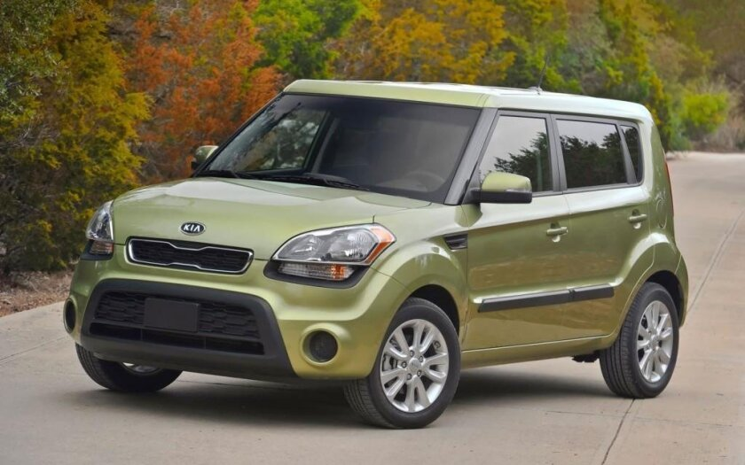 Police believe a 2012 or 2013 Kia Soul fatally struck a bicyclist in Oceanside and then drove away.