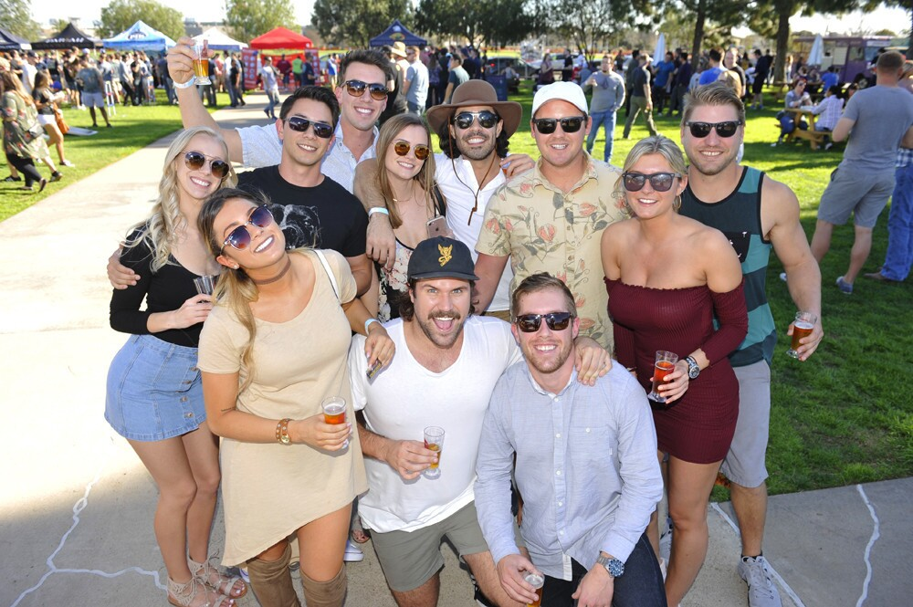 San Diegans raised a few cold ones at the 2018 San Diego Brew Fest at Liberty Station on Saturday, Jan. 13, 2018.