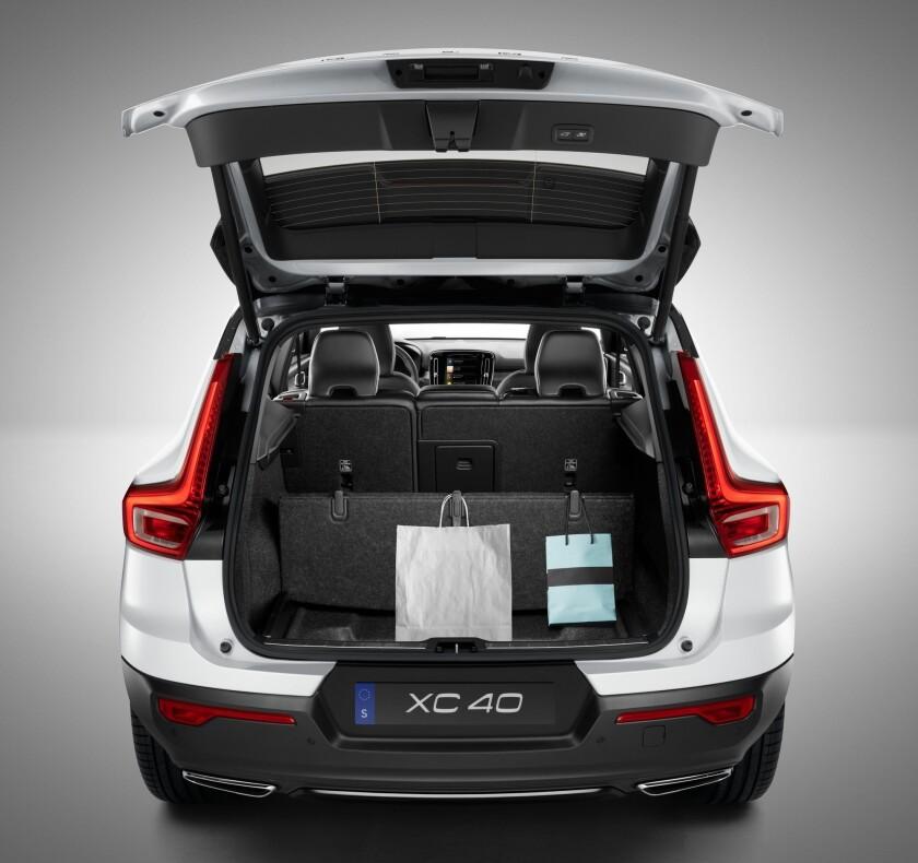 The New Volvo XC40 – interior