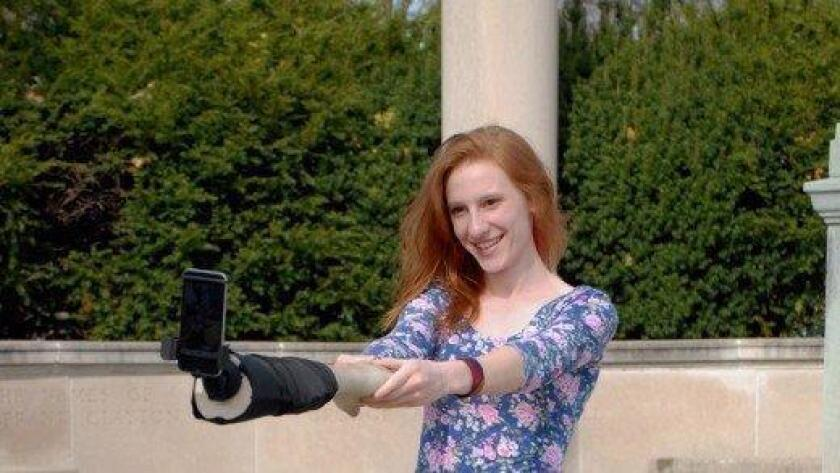 Is the next new trend a selfie arm?