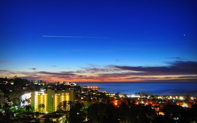 PHOTO OF THE WEEK: A pretty sunset in La Jolla from Saturday, Oct. 22, 2016 in case you missed it. — Greg Wiest