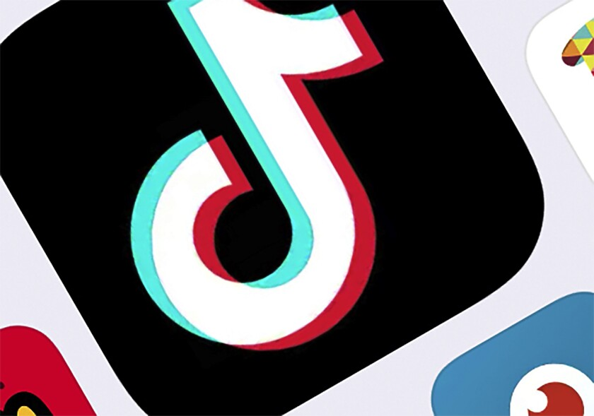 The TikTok icon. The U.S. has been investigating potential national security risks due to ByteDance's control of TikTok.