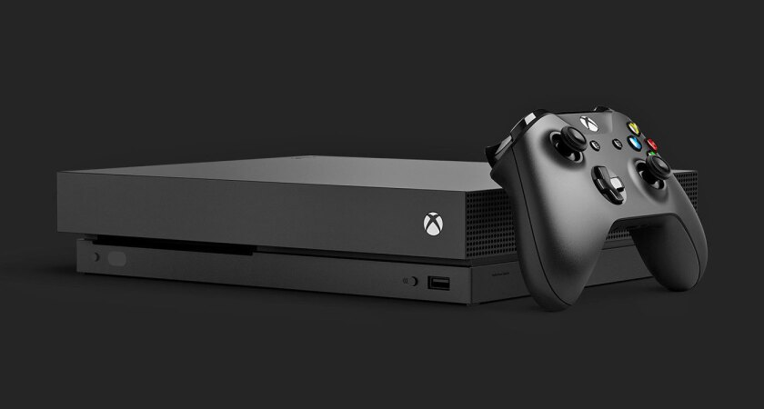 Xbox One X, cosiderada como la consola más poderosa del mundo.