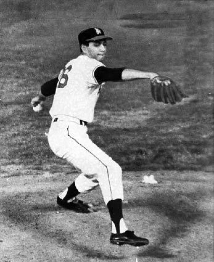 In only his fourth major league start, Bo Belinsky pitched a no-hitter against the Baltimore Orioles on May 5, 1962.