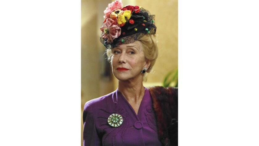 """Helen Mirren as Hedda Hopper in """"Trumbo"""""""