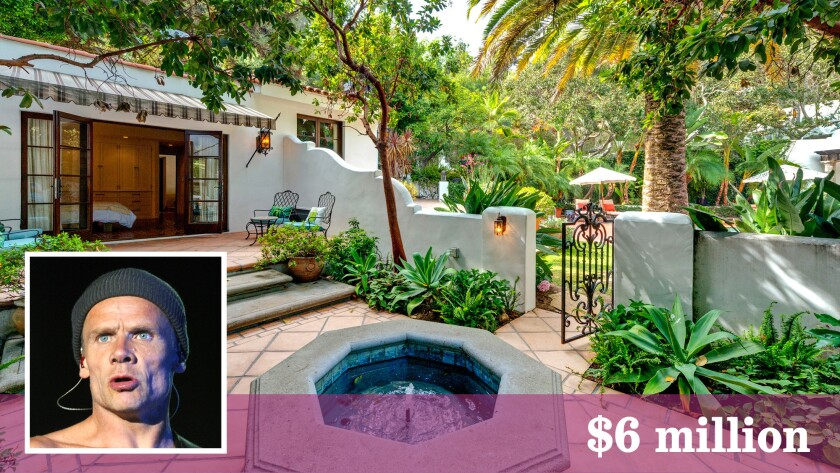 Bassist Flea of the Red Hot Chili Peppers has sold his Griffith Park-area estate.