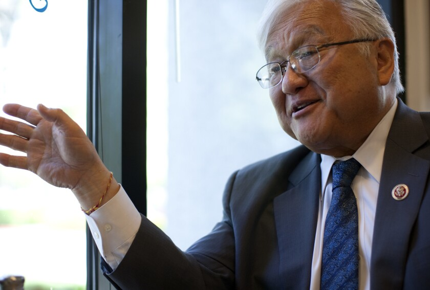 Rep. Mike Honda (D-San Jose), shown in 2014, is the subject of an ethics complaint.